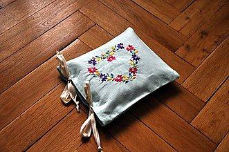 Úžitkový textil - Čerešňový vankúš srdce - 8767049_