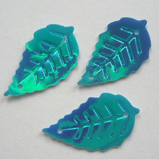 Flitre-list 13x25mm-5g (dúhová modrá)
