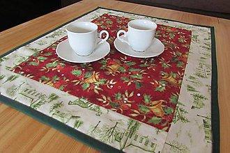 Úžitkový textil - Vianočný obrúsok Christmas belss - 8766110_