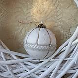 Dekorácie - vianočná guľa *20 - 8768341_