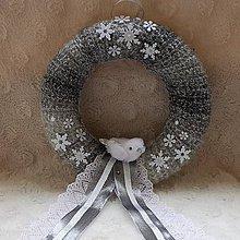 Dekorácie - Vianočný venček - 8770938_
