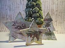Dekorácie - Drevená dekorácia - 8769607_