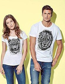 Tričká - Tričko LEV alebo Tiger - 8771193_