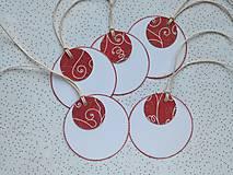 - Darčekové visačky Vianočné - 8766343_