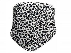 Pre zvieratká - Šatka pre psa Leopard - 8769928_