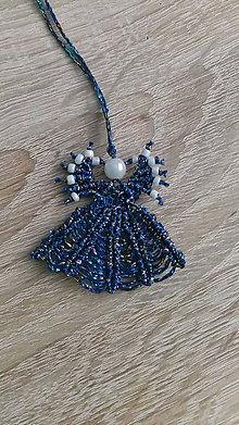 Dekorácie - Malý Anjelik (Modrá) - 8770361_