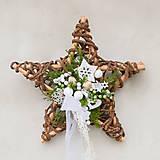 - Vianočná hviezda na dvere - 8765864_