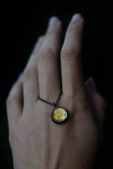 Náhrdelníky - Lúčna žltá  - 8767231_