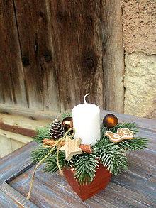 Dekorácie - Vianočná stolová dekorácia - 8767723_