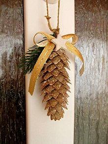 Dekorácie - Závesná vianočná dekorácia - 8767823_