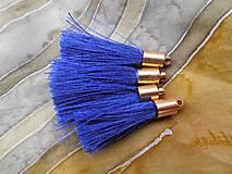 Strapce hodvábne  - pár (Modrá)