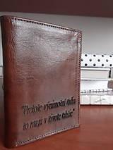 Tašky - peňaženka pre výnimočného chlapa - 8767776_