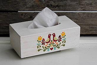 Krabičky - Zásobník Folk Vogel (Kváder) - 8766239_