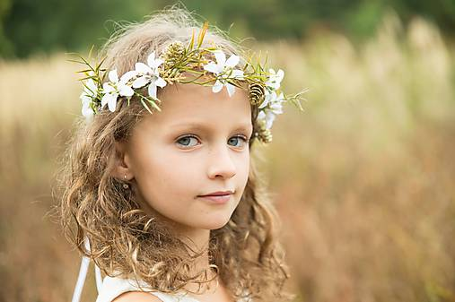 Ozdoby do vlasov - Venček Rozmarínka  - 8768445_