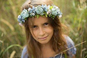 Ozdoby do vlasov - Venček Julia 01 - 8768397_