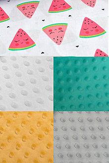 Textil - BUVI... Melóniky & MiNKy... deka pre najmenších ♥ - 8775463_