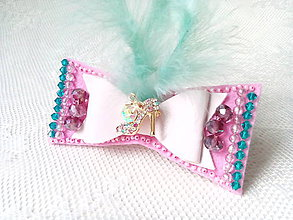 Odznaky/Brošne - Le frou-frou bow (brooch) - 8771921_