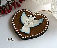 Dekorácie - Vianočná ozdoba masív 6 - 8774042_
