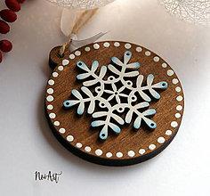 Dekorácie - Vianočná ozdoba masív 5 - 8772437_