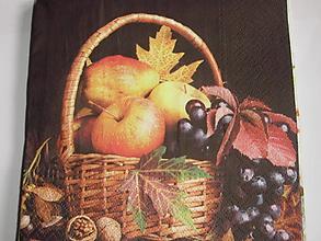 Papier - servítky 1740 ovocie (1741) - 8773644_