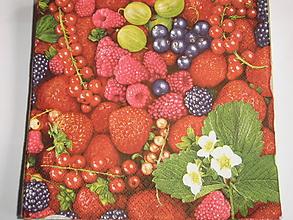 Papier - servítky 1740 ovocie (1743) - 8773664_