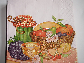 Papier - servítky 1740 ovocie (1746) - 8773723_