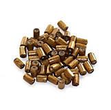 Korálky - Drevené valčeky Capucino 8x4mm - 8771919_