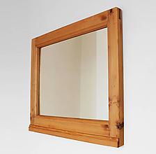 Zrkadlá - Zrkadlo zo starej postele - 8773924_