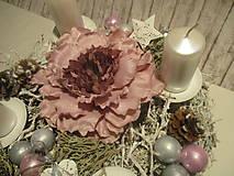 Dekorácie - Adventný svietnik - 8775693_