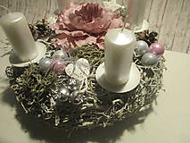 Dekorácie - Adventný svietnik - 8775695_