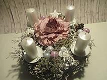 Dekorácie - Adventný svietnik - 8775711_
