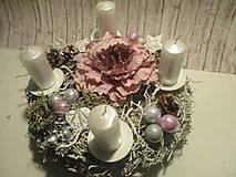 Dekorácie - Adventný svietnik - 8775718_