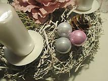 Dekorácie - Adventný svietnik - 8775719_