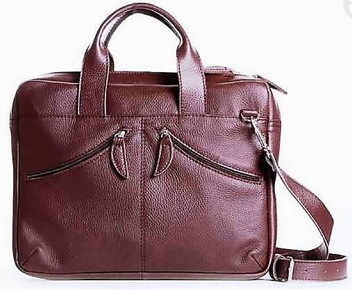 d63b2cffb05d Kožená taška na notebook 13
