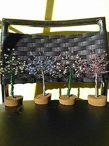 Dekorácie - Stredné stromčeky šťastia - 8773456_
