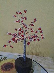 Dekorácie - Stredný stromček šťastia - 8773772_