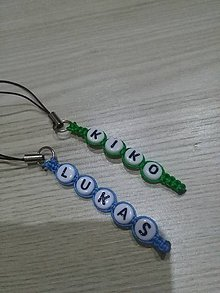 Kľúčenky - klúčenka s menom - 8773917_