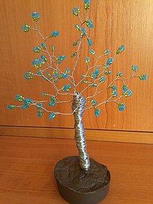 Dekorácie - Stredný stromček šťastia - 8774147_