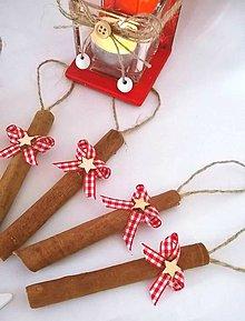 Dekorácie - Vianočné škoricové paličky.. - 8772813_