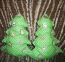 Dekorácie - Vianočný stromček - 8776128_