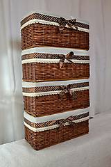 Košíky - Čokoládové boxy LUCY / ks - 8773417_