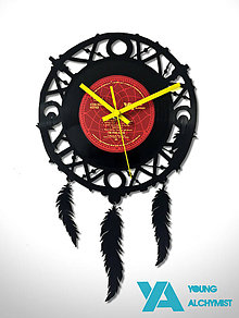 Hodiny - Dream Catcher - 8776152_