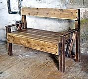 Nábytok - Balkónová lavica - 8779340_