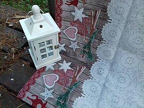Úžitkový textil - Vianočný obrus - 8778060_
