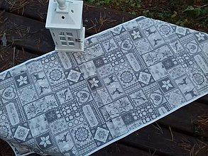 Úžitkový textil - Christmas in the gray - 8778248_