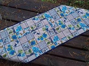 Úžitkový textil - Blue Garden - 8778322_