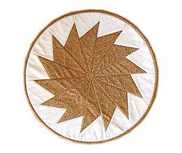 Úžitkový textil - Kruhový obrus jesenný - 8780272_