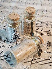 Dekorácie - Vianočné fľaštičky - malé - 8779357_