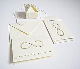 Papiernictvo - Svadobný set - pozdrav, obálka na peniaze + krabička - 8779055_