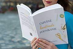 Knihy - Úspešné handmade podnikanie - kniha - 8780417_